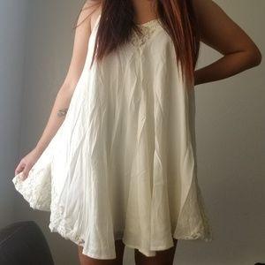 Lace handkerchief dress